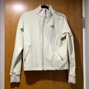 The North Face Cream Jacket Size L